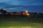 UP 5108 & 4865 pull a windmill parts train trough Fall Creek WI